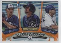 Christian Villanueva, Michel Baez, Fernando Tatis Jr. #/25