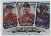 Ronald Acuna, Mike Soroka, Kyle Wright