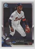 Base - Ozzie Albies (White Jersey)
