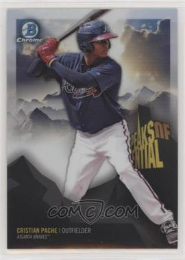 2018 Bowman Chrome - Peaks of Potential #PP-CP - Cristian Pache