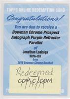 Jonathan Loaisiga /250 [BeingRedeemed]