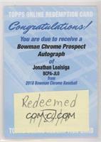 Jonathan Loaisiga [BeingRedeemed]