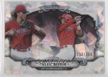 2018 Bowman Draft - Bowman Sterling Continuity - Atomic Refractor #BS-AB - Alec Bohm /150