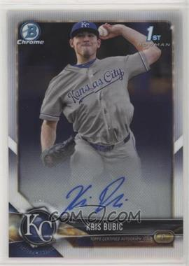 2018 Bowman Draft - Chrome Draft Pick Autographs #CDA-KB - Kris Bubic