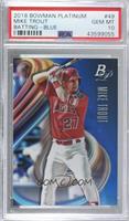 Base - Mike Trout (Batting) /150 [PSA10GEMMT]
