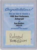 Ryan Weathers [BeingRedeemed] #/100