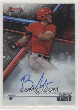 2018 Bowman's Best - Best of 2018 Autographs #B18-BMA - Brandon Marsh