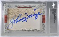 Johnny Mize [Cut Signature]
