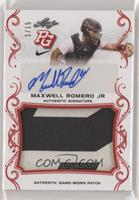 Maxwell Romero Jr #/15