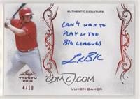 Luken Baker #/10