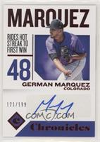 German Marquez #/199