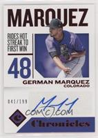 German Marquez [Noted] #/199