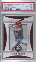 Mike Trout [PSA 8 NM‑MT] #/25