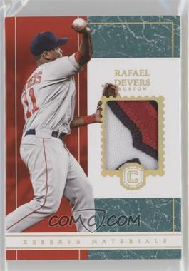 2018 Panini Chronicles - Reserve Materials - Marble #RM-RD - Rafael Devers /10