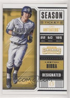 2018 Panini Contenders Draft Picks - [Base] #20.1 - Keston Hiura (Running)