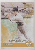 Base - Lloyd Waner (Looking to Left Side of Card) /99