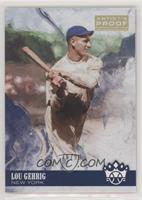Photo Variation - Lou Gehrig (Swing Follow Through) /99