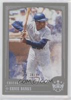 Base - Ernie Banks (Batting Helmet and Solid Grey Uniform) /99