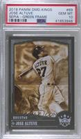 Sepia Variation - Jose Altuve [PSA 10 GEM MT] #/5