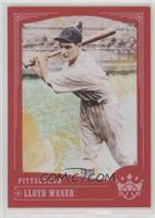 Base - Lloyd Waner (Looking to Left Side of Card)