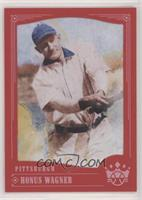 Photo Variation - Honus Wagner (Blue Collar)