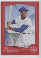 Photo Variation - Ernie Banks (Smiling in Cap and Pinstripes)