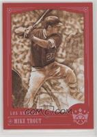 Sepia Variation - Mike Trout