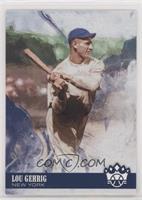 Photo Variation - Lou Gehrig (Swing Follow Through)