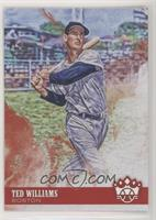 Photo Variation - Ted Williams (Blue Long Sleeves)