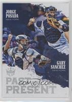Gary Sanchez, Jorge Posada