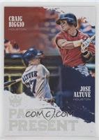 Jose Altuve, Craig Biggio