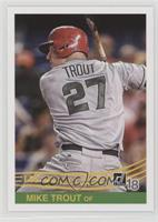 Retro 1984 Variations - Mike Trout (Grey Jersey)