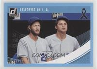 Multiplayer Horizontal - Clayton Kershaw, Corey Seager #/49