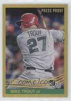 Retro 1984 Variations - Mike Trout (Grey Jersey) #/99