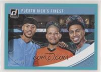 Multiplayer Horizontal - Carlos Correa, Francisco Lindor, Yadier Molina #/199
