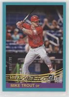Retro 1984 Base - Mike Trout (Red Jersey) /199