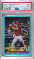 Retro 1984 Base - Mike Trout (Red Jersey) [PSA9MINT] #/199