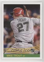 Retro 1984 - Mike Trout (Grey Jersey)