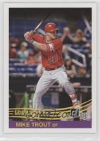 Retro 1984 Base - Mike Trout (Red Jersey)