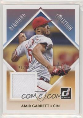 2018 Panini Donruss - Diamond Collection - Gold #DC-AG - Amir Garrett /99 - Courtesy of COMC.com