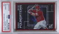 Mike Trout [PSA 10 GEM MT] #/149