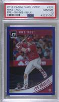 Base - Mike Trout (Batting, Leg Kick) [PSA 10 GEM MT] #/149