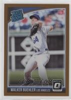 Rated Rookies Variations - Walker Buehler (Back Text:
