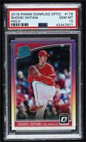 Rated Rookies Variations - Shohei Ohtani (Pitching) [PSA10GEM…