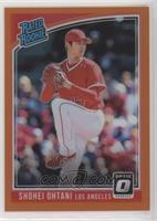 Rated Rookies Variations - Shohei Ohtani (Pitching) /199