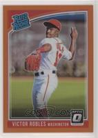 Rated Rookies - Victor Robles (Ball Behind Head) /199