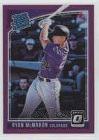 Rated Rookies Variations - Ryan McMahon (Purple Jersey)