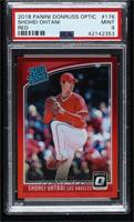 Rated Rookies Variations - Shohei Ohtani (Pitching) [PSA9MINT] #/99