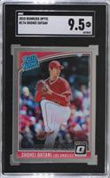 Rated Rookies Variations - Shohei Ohtani (Pitching) [SGC9.5Mint+]