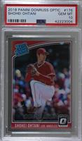 Rated Rookies Variations - Shohei Ohtani (Pitching) [PSA 10 GEM …